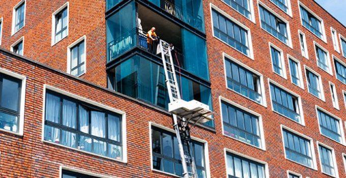 Verhuizen met Ladderlift, verhuislift bij appartement, VerhuizersRotterdam